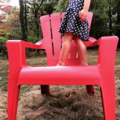 'Adirondack chair' in Indian Summer
