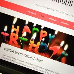 Curious Life by Marijn bestaat 1 jaar!