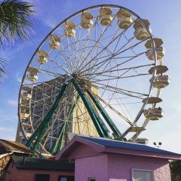 Vintage reuzenrad in Myrtle Beach