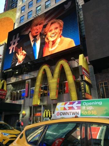 Weekend NYC vlak voor de verkiezingen