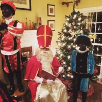 Sinterklaas in Amerika