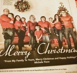 Kerstgroet uit Las Vegas mét wapens... (Volkskrant)