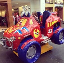 American size kiddy ride...
