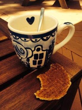 Nostalgische koffie met...