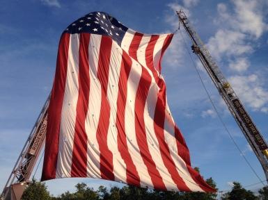 Megavlag op Independence Day