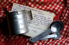 cups teaspoons bakken in Amerika
