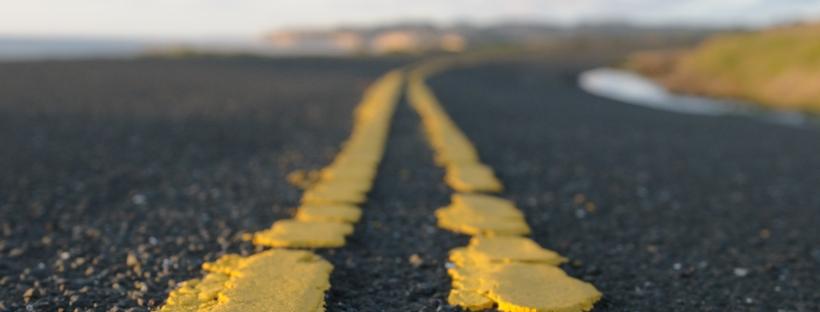 amerikaanse snelweg reis naar het zuiden