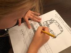 Chinees huiswerk by Sarah #mandarijn #moeilijkman #singapore #uitdaging #nihao #meertaligheid