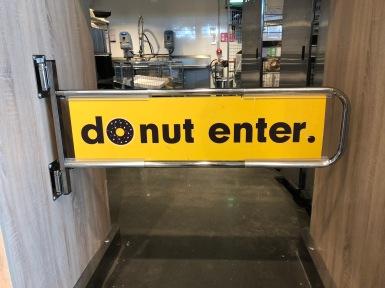 Zou het werken? #donut #lidl #stop #donotenter #donutenter