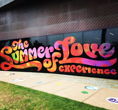 Vijftig jaar geleden in #sanfrancisco #summeroflove #makelovenotwar #hippie